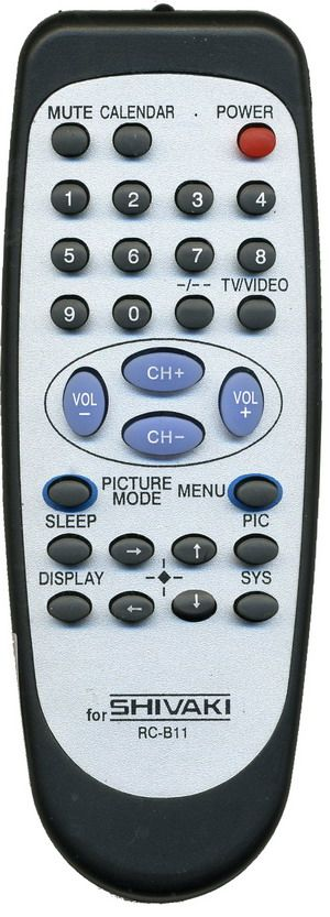 Пульт для SHIVAKI/Trony RC-811, RC-810 (TV)  (20LW10, STV-1439, STV-1465, STV-1469, STV-1489, STV-2175)