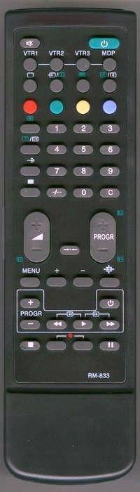 Пульт для Sony RM-833 (TV,VCR)