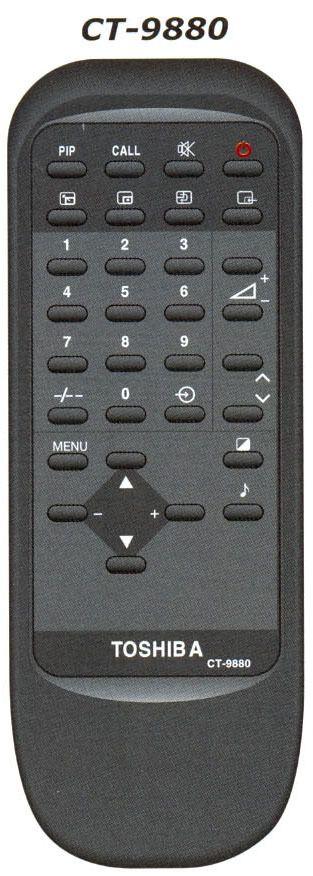 Пульт для Toshiba CT-9880 (TV)