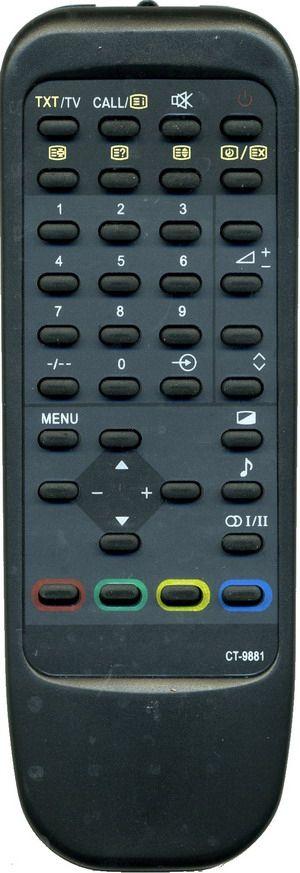 Пульт для Toshiba CT-9881 (TV) (2150XL3, 29N5DRT)