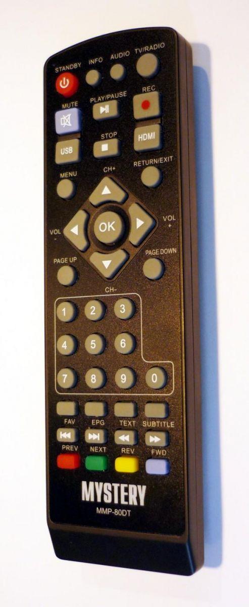 Пульт для MYSTERY MMP-80DT пульт для приставки цифрового телевидения MMP-80DT
