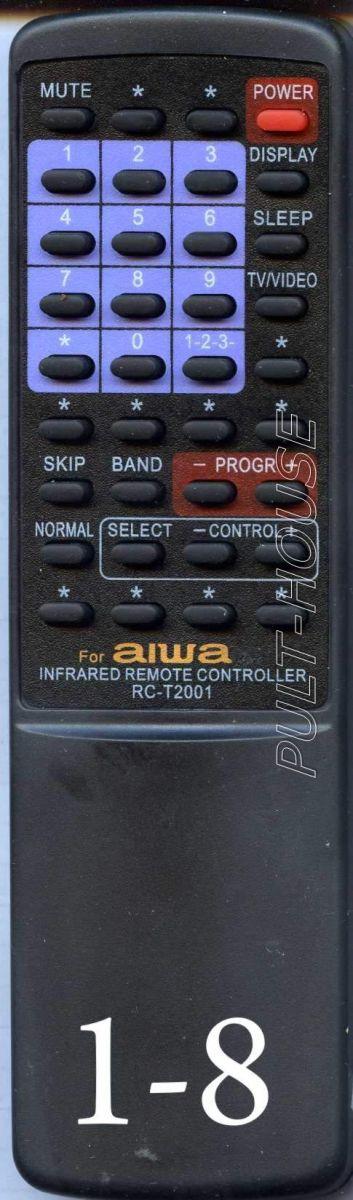 Пульт для Aiwa RC-T2000 (TV/VCR)