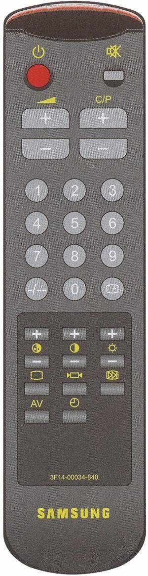 Пульт для Samsung 3F14-00034-840 (-842, 843, 890) (TV)