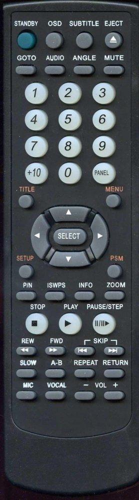 BBK RC-54 (DVD player) (DV516S, DV966S)