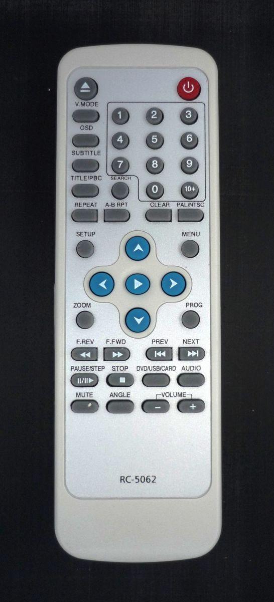 Hyundai RC-5062 (DVD) (H-DVD5062, H-DVD5063, H-DVD5064, H-DVD5065)