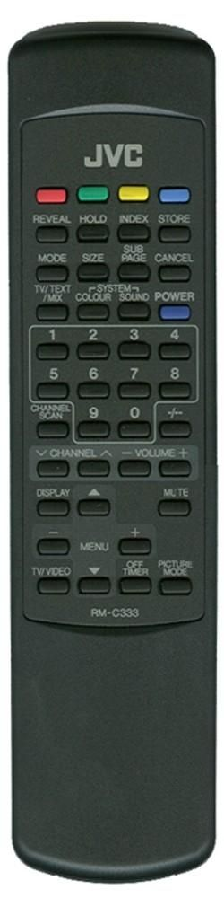 JVC RM-C333 (TV) (AV-1430TEE, AV-2130TEE)