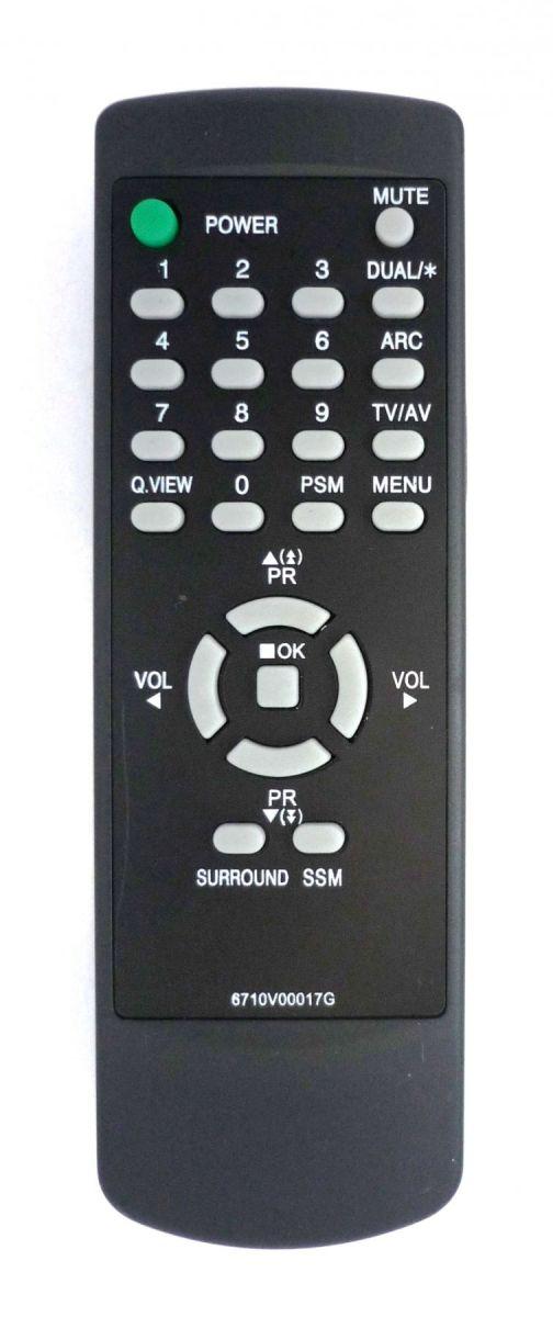 Пульт LG 6710V00017G (TV) (20D33E, 21S10E, CT-20ET, CT-21Q, CT-21Q20ET, CF-21D33E)