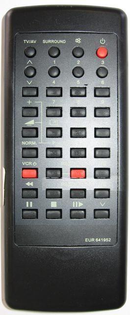 Panasonic EUR641952M (TV,VCR)