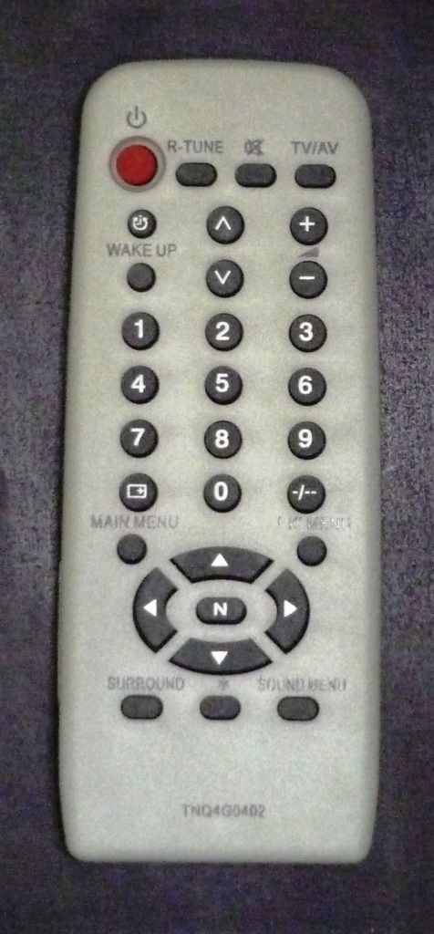 Panasonic TNQ4G0402, N2QAGB000036 (TV) (TX-15PM30T, R, 21PM30R, 21PM10T, R, 15PM10T, R ,  15M11R, TC-15PM30R, 21PM10R, 21PM30R)