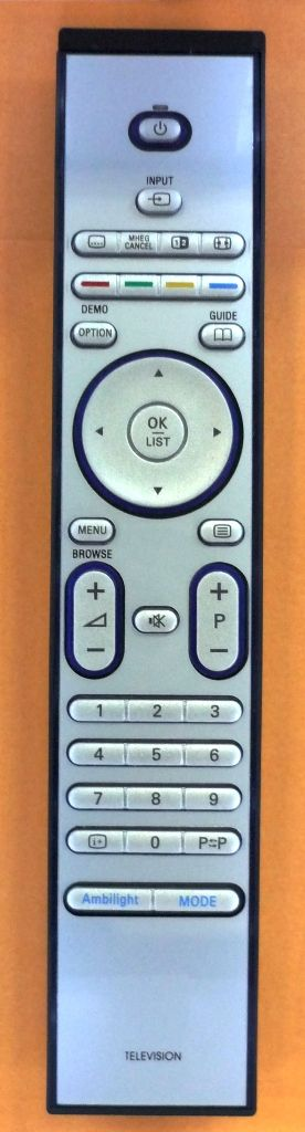Philips RC-4450 (TV) (32PFL7623D/10, 32PFL7862D/10, 32PFL9632D, 37PFL9632D, 42PFL9632D/10, 47PFL9532D, 47PFL9632D, 52PFL9632D)