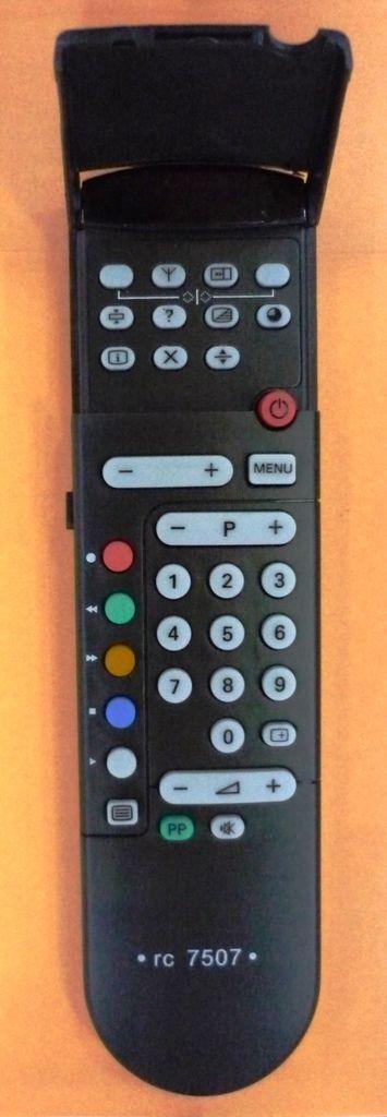 Philips RC7507 (TV) (14PT136, 14PT158, 15AA3537, 15AB3536, 15PT161A, 15PT166A, 17AA3547, 17AB3546, 17PT161A, 17PT166A, 21AA3557, 21AB3556, 21PT136, 21PT158, 21PT160B, 21PT161A, 21PT164B, 21PT165A, 21PT1663, 21PT166A, 21PT166B, 25PT4001, 25PT400A)