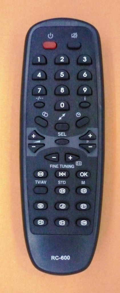 Rekord RC-600 (TV) (37ТЦ5168, 37ТЦ5177, 37ТЦ5277, 51ТЦ5168, 51ТЦ5177, 51ТЦ5277, 54ТЦ5168, 54ТЦ5177, 54ТЦ5277)