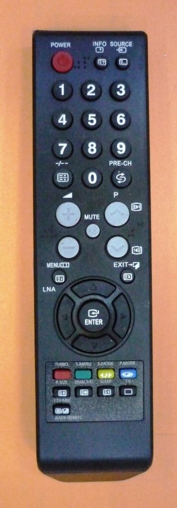 Samsung AA59-00401C (TV) (CS-21Z40, CS-21Z40ZQQ, CS-21Z50, CS-21Z50ZQQ, CS-29Z40ZQQ, CS-29Z50ZQQ)