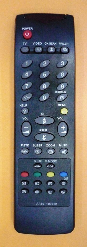 Samsung AA59-10075K, 3F14-00048-180 (TV с t/t) (CK-2502SXR, CK-2502SXR, CK-2902SXR, CK-5099, CK-5344, CK-5377, CK-5399, CK-5937, CK-5944, CK-596, CK-6202WTR, CK-6237, CK-6251, CK-6837, CK-6840)