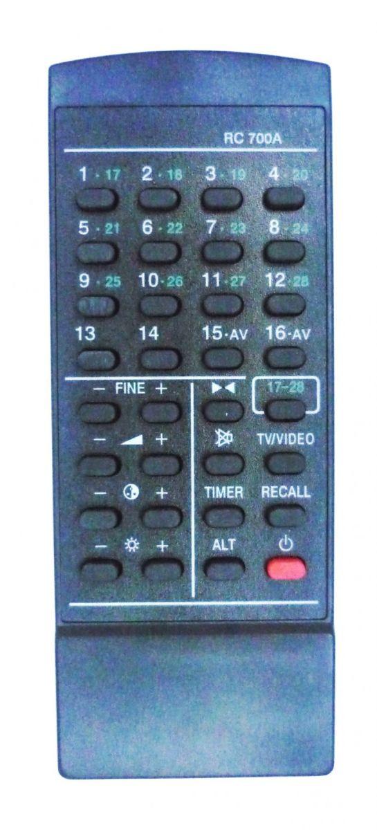 Sanyo RC-700/700A (TV) (C21EM13, CEM-6011VSU-20, CEP-3011VPS-40, CEP-4011V, CEP-6011VPS)