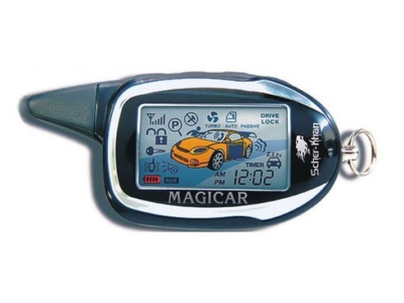 Пейджер Брелок Scher-Khan Magicar 8 Pro 2 ЖК