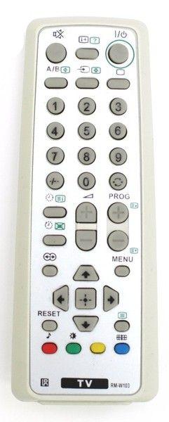Пульт для Sony RM-W103 (TV) (KV-SW25M61, KV-SW25M91, KV-SW29M91, KV-SW34M61)