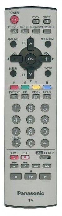 Пульт для Panasonic N2QAJB000161 (TX-21FG50, TX-21FX50, TX-29E340, TX-29F140, TX-29F240, TX-29F340, TX-29F350, TX-29F350T, TX-29FG50, TX-29FX50)