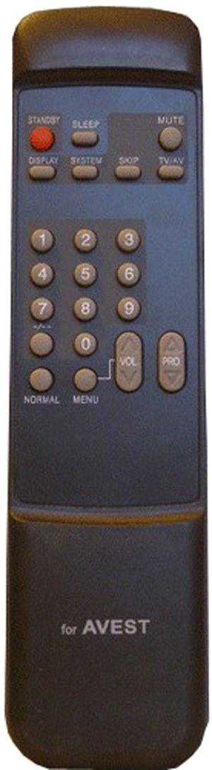Avest RC-297  (TV) (37У-02, 54ТЦ-02, 54ТЦ-02ПС88, 64ТЦ-02ПС88, 72ТЦ-02ПС88, 87ТЦ-02ПС88)