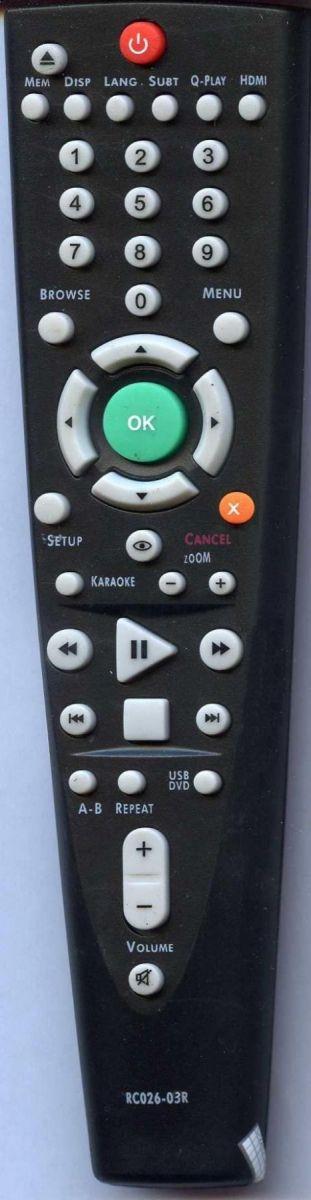 для BBK RC026-03R (DVD player)