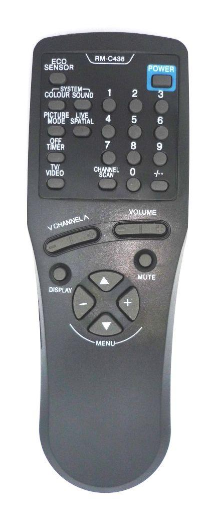 JVC RM-C438 (TV) (AV-1410EE, AV-1411TEE, AV-2110EE, AV-2130EE, AV-2551TEE, AV-2553TEE, AV-2951TEE, AV-K29MX1, AV-K29MX3)