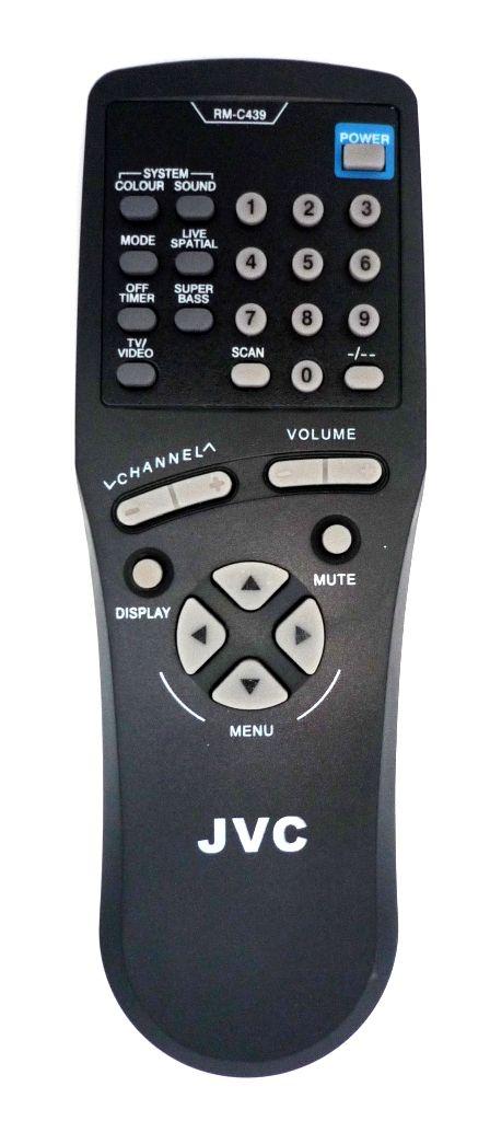 JVC RM-C439 (TV) (AV-1410EE, AV-1411TEE, AV-2110EE, AV-2130EE, AV-2551TEE, AV-2553TEE, AV-2951TEE, AV-K29MX1, AV-K29MX3)