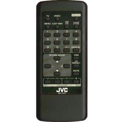 JVC RM-C470 (TV) (AV-14WBK, AV-21WBK, AV-C147, AV-C14T, AV-C14Z, AV-C21T, AV-C21Z)