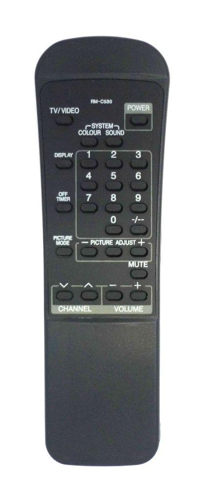 JVC RM-C530 (TV) (AV-C140T, AV-C14T, AV-C21T, AV-E141, AV-G210T, AV-L771, AV-R1100)