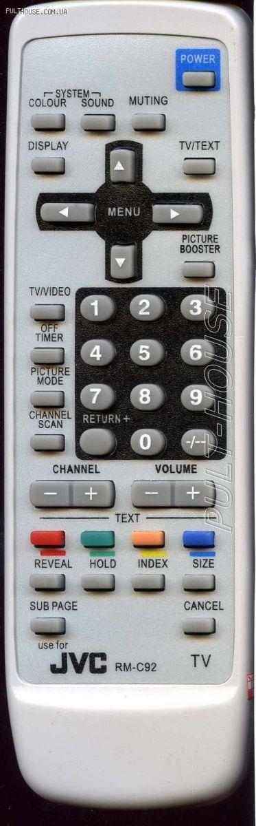 JVC RM-C92 (TV c t/t) (AV-2112Y1)