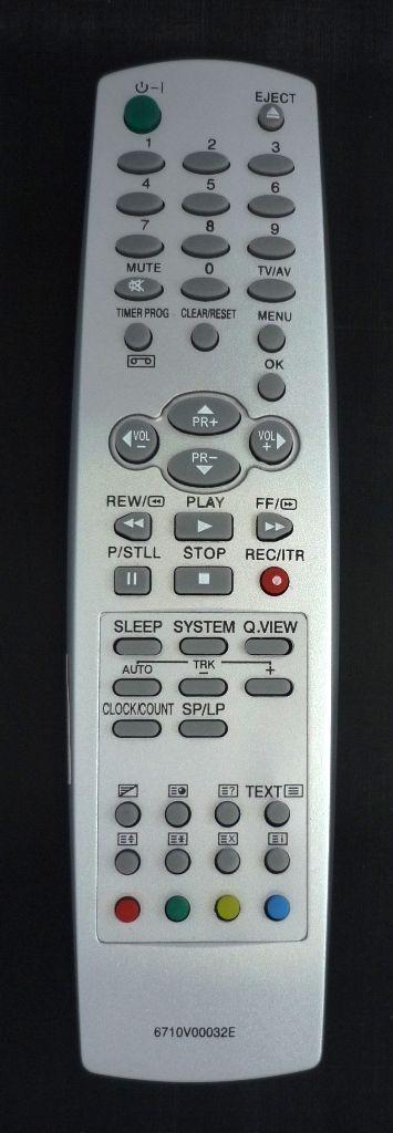 для LG 6710V00032E (TV+VCR) (KF-20P30, CT-29Q20RE, KF-14P2P, KF-14U30, KF-14U40, KF-14U42, KF-20U30, KF-20U40, KF-20U42, KF-20U73, KF-21PM30, KF-21U30, KF-21U40, KF-21U42)