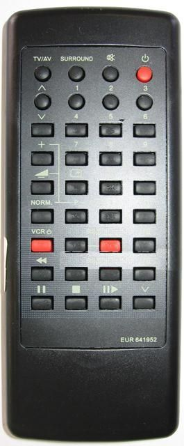 Panasonic EUR641952M (TV,VCR) (TC-21CF10R, TC-21GF10R, TC-21LBX, TC-25V20R, TC-25V50R, TC-29V50R, TC-32WG25K)