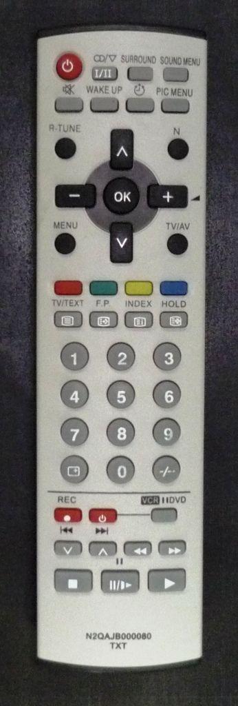 Panasonic N2QAJB000080 (TV, VCR, DVD с t/t) (TX-21FG20, TX-21FG50T, TX-21PM50T, TX-25FG20, TX-29FG20, TX-29P90T)