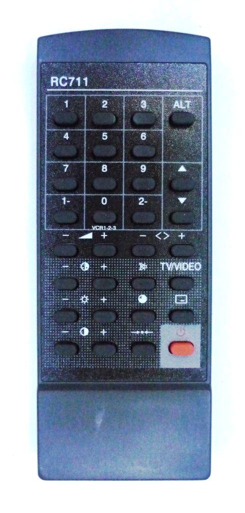 Sanyo RC-711 (TV) (CEM-1454, CEM-2054, CEM-2140, CEM-2511VSV, CEM-2515 VSU, CEP-3022, CZP-3515V10)