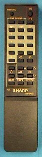 Sharp G1077PESA (TV) (CV-14DSC, CV-2132CK1, CV-21DCK1)
